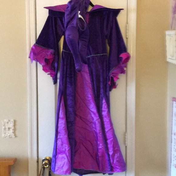 Disney Store Girls Maleficent Costume Size 11 12